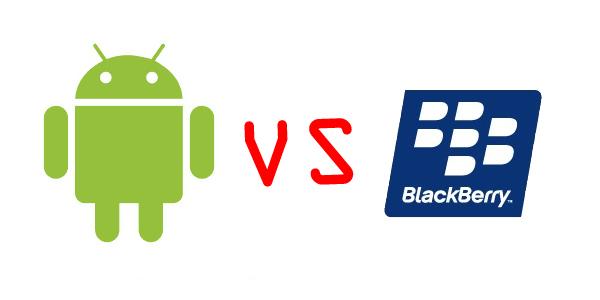 android vs blackberry